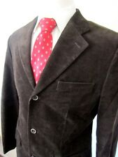 Tasso Elba Men's Medium 39R-41R Corduroy Jacket Sportcoat Blazer Brown