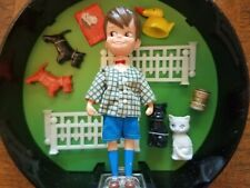 Vintage 1960s Mint Dolly Darlings John and His Pets, Hatbox Collection