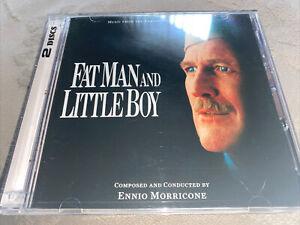 Ennio Morricone Soundtrack CD Fat Man and Little Boy CD - La-La Land Records OOP