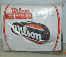 Wilson Tennis Equipment Bag Wrz601301 / New - Holds up to 3 Rackets - Adj. strap