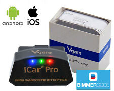 Vgate iCar Pro Bluetooth BLE 4.0 Coding iPhone iPad Android OBD2