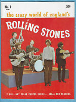 Acme News,1964, 1st ed., The Crazy World Of England's Rolling Stones # 1,