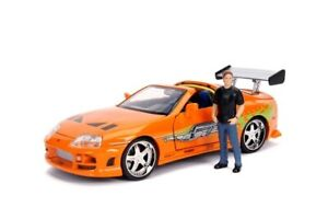 Fast & Furious - 1995 Toyota Supra 1:24 with Brian Hollywood Ride-JAD30738-JA...