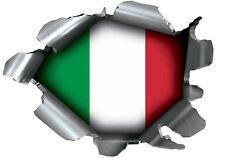SPEED DEMONS PRIDE BURST STICKER SELF ADHESIVE CAR LAPTOP RIP TORN ITALY ITALIAN