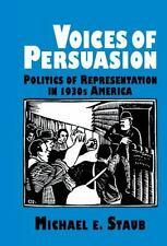 Voices of Persuasion (Cambridge Studies in American Literature and-ExLibrary