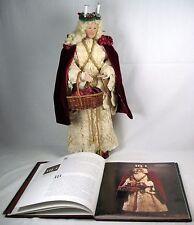 """Collectible All Original Christmas Figure Santa Lucia 19"""" by Brenda Goin Morris"""