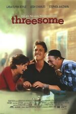 THREESOME MOVIE POSTER 2 Sided ORIGINAL ROLLED 27x40
