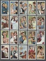 1935 Gallaher Shots From Famous Films Tobacco Cards Complete Set of 48
