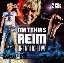 MATTHIAS REIM - UNENDLICH LIVE  (2 CD)  28 TRACKS  DEUTSCHER SCHLAGER  NEU