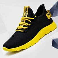 Vulcanize Sneakers Breathable Casual No-slip Male Air Mesh Lace Up Men Shoes