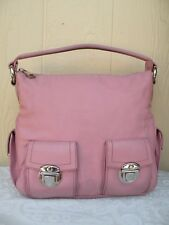 "VINTAGE MARC JACOBS LEATHER PINK "" BLAKE "" MULTI POCKETS HOBO BAG PURSE"