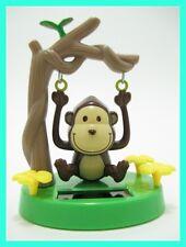 Solar Dancing Swinging Monkey Novelty Toy Flip Flap Bubble Head Fast Shipping!!