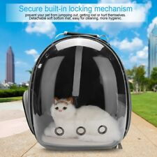 Pet Outing Portable Cat Cage Bag+Mat Transparent Pet Backpack Space Capsule BH