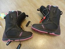 New listing New 2014 Burton Day Spa Snowboard Boots Womens Size 9 Brown / Pink Look Awesome