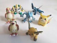 POKEMON Figures Lot Tomy VINTAGE Diagla, Pidgey, Golduck, Pidgeot, Pikachu &...