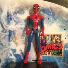 "SPIDEY Marvel ANIMATED SPIDERMAN LIGHT BL 6"" AVENGERS XMEN LEGENDS AMAZING MOVIE"