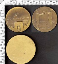 Medaille BESUCH DER'AMERIKANISCH LEGION IN Frankreich. Sept. 1927. Par P.Dautel+