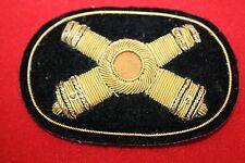 US CIVIL WAR ARTILLERY KEPI CAP BADGE BULLION WIRE