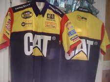 Ward Burton  Nextel   CAT race used pit crew uniform shirt  M