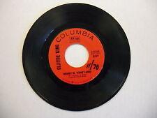 Claude King Mary's Vineyard/Johnny Valentine 45 RPM VG+