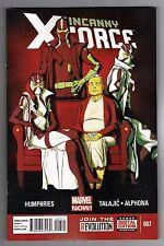 UNCANNY X-FORCE #7 - ADRIAN ALPHONA ART - KRIS ANKA COVER - MARVEL NOW - 2013