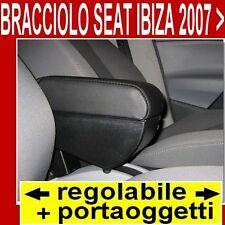 SEAT IBIZA (2007-2016) -bracciolo p.oggetti REGOLABILE per