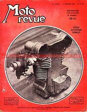 MOTO REVUE 1119 TERROT 100 JAWA 350 CAMUS 175 ; Technique Roue tirée poussée ?