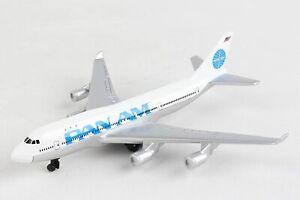 5.75 Inch Boeing 747 PANAM (Pan American Airways) Diecast Airplane Model