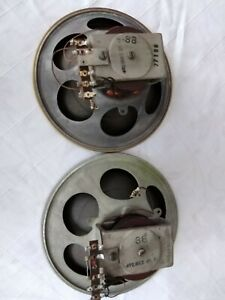 2 Vintage Philips field coil speakers 21.5 cm 8.5 inches.