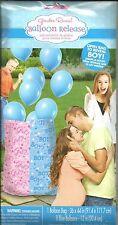 Boy or Girl Gender Reveal Balloon Release Bag Boy