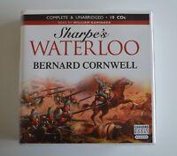 Sharpe's Waterloo: by Bernard Cornwell - Unabridged Audiobook - 10CDs
