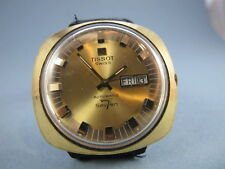 TISSOT AUTOMATIC 7 VINTAGE MENS 5X SIGNED WATCH no reserve