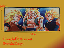 Dragon Ball Z Large Mousemat DBZ Mouse Pad Gaming Mat for PC,PS4,Laptops,Xbox