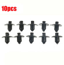 10Pcs Engine Side Cover Clip Retainer Fastener Clip For Toyota ES IS Lexus Black