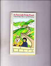 """An Especially Tricky People 1979-Strip Reprints Paperback-"""" Doonesbury Book ! """""""
