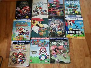 Super Mario Official Nintendo Players Guide's