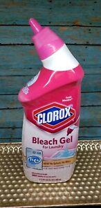 1) Clorox Fresh Meadow Bleach Gel for Laundry No Splash 24oz HE Discontinued HTF