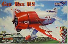 Gee Bee R2,Dora Wings,Plastique,1:48,plusieurs Stickers,Pieces gravées,Nouveauté