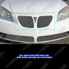 Fits 2005-2008 Pontiac G6 Main Upper Billet Grille Insert