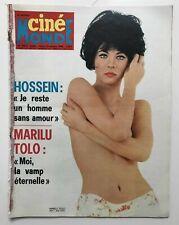 ►CINE MONDE 166/4/1966 - MARILU TOLO - BATMAN - JEAN PIERRE MELVILLE - SHEILA