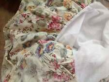 Laura Ashley Melrose Bedskirt Dust Ruffle Full Size Floral