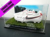 ✺Signed✺ TOM HARLEY & MARK THOMPSON Boots PROOF COA Geelong Cats 2020 Jumper