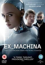 Ex Machina [DVD] [2015] - There is nothing more human than the will to survive +