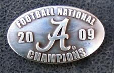 Lot of 5 Alabama National Championship 2009 concho silver screwback Crimson Tide
