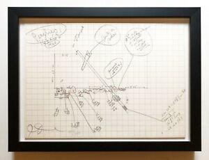 Jim Dine 1973 Hand Signed Numbered Ltd Ed. 300 Framed Pristine Dealer JKLFA.com