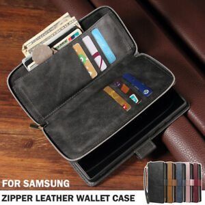 For Samsung Note20 S21 S20 Ultra A21S A31 A51 A71 Case Wallet Leather Flip Cover