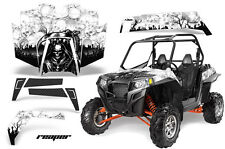 AMR Racing Polaris RZR 900XP Sticker Graphic Kit Decal UTV Parts 11-14 REAPER W