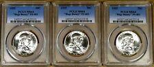 1955 PCGS MS64 FS-401 Bugs Bunny Franklin Half Dollar - 100% White