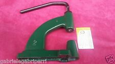 Torchietto Torchio 2 modello numero 2 ghisa adatto x bottoni rivetti CONICI CONO
