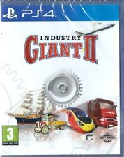 Industry Giant 2 Playstation 4  (PS4)  NEW